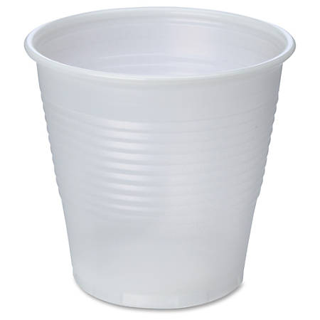 Genuine Joe Translucent Beverage Cup - 5 fl oz - 2500 / Carton - Translucent, Clear - Beverage