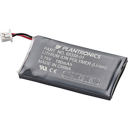 Plantronics Rechargeable Headset Battery