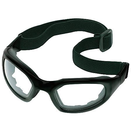 Maxim 2 x 2 Safety Eyewear, Gray Lens, Anti-Fog, Hard Coat, Black Frame, Rubber