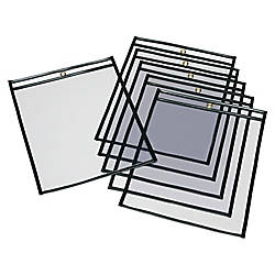 SKILCRAFT Transparent Poly Envelopes 13 x