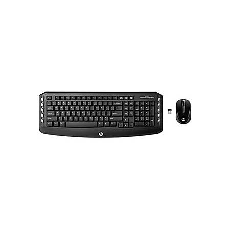 HP Classic Desktop - Keyboard and mouse set - wireless - 2.4 GHz - US - for OMEN by HP 880; ENVY; ENVY Sleekbook; ENVY Spectre XT; ENVY x2; Pavilion 23, 59X, dm4