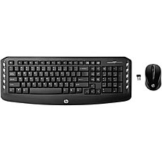 HP Classic Desktop Keyboard and mouse