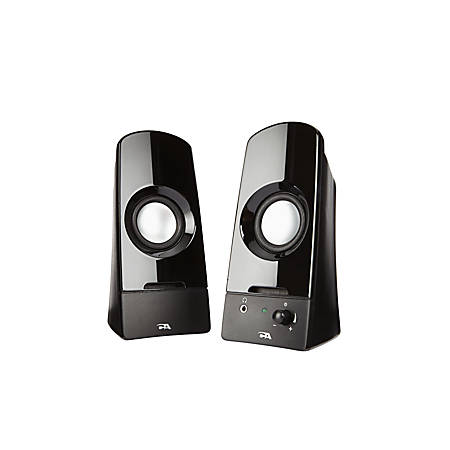Cyber Acoustics Curve Sonic 2.0 Speaker System, Black