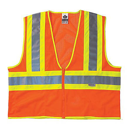 8230Z CLASS 2 TWO-TONE VEST S/M OR