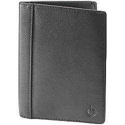 Franklincovey leather index card holder 12 h x 3 910 w x 5 for Franklin covey business card holder