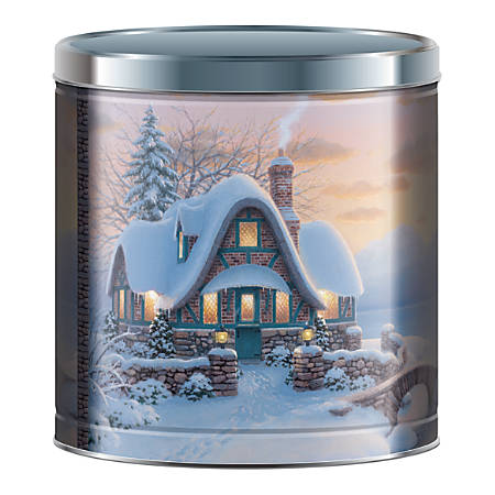 Signature Brands Holiday Popcorn, 24 Oz Tin