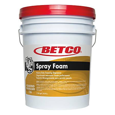 Betco® Spray Foam Degreaser, 640 Oz