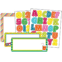 Carson Dellosa Colorful Chalkboard Variety Sticker