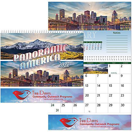 Panoramic America Wall Calendar Spiral