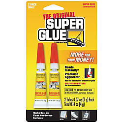 Super Glue Gel Double Pack