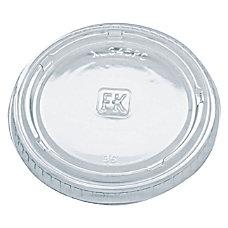 Fabri Kal Polystyrene Portion Cup Lids