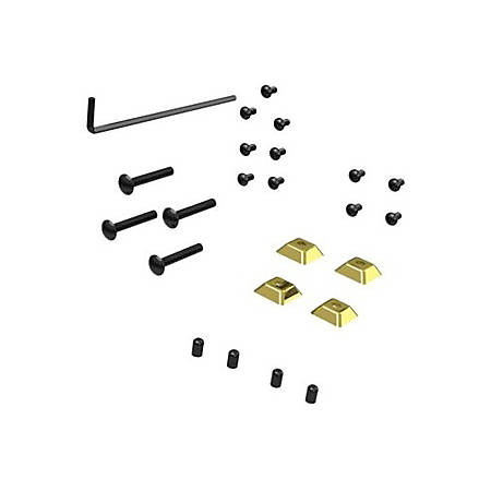 Peerless-AV Security Kit for PTM200 and PTM400 series Fasteners for bolting to desktop surfa