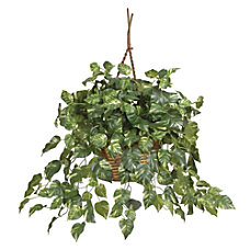 Nearly Natural 26 Pothos Hanging Plant
