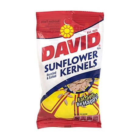 David Sunflower Kernels, 3.75 Oz, Box Of 12