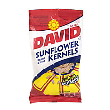 David Sunflower Kernels 375 Oz Box