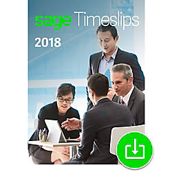 Sage Timeslips 2018 Time and Billing