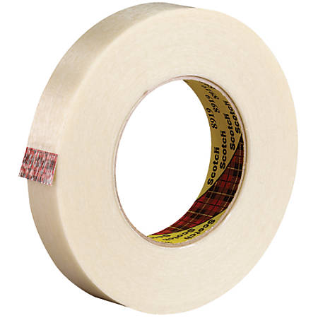 """Scotch® 8919 Strapping Tape, 3"""" Core, 0.75"""" x 60 Yd., Clear, Case Of 48"""