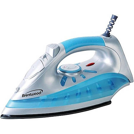 Brentwood MPI-60 Clothes Iron - Yes - 1200 W - Silver