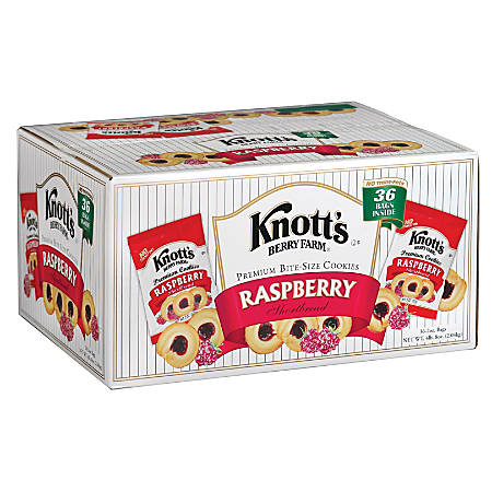Knott's Berry Farm® Raspberry Cookies, 2 Oz , Box Of 36