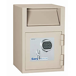 Gary Depository Safe With White Glove