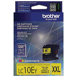 Brother LC10EY High Yield Yellow Ink