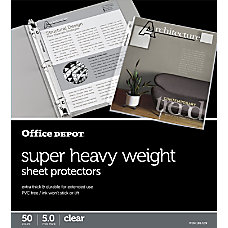 Office Depot Brand Super Heavyweight Sheet