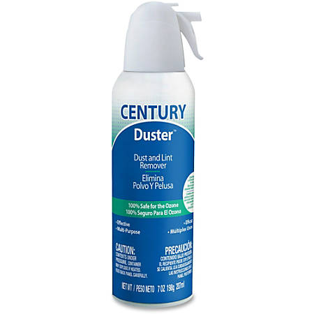 Falcon Disposable Duster - For Electronic Equipment, Automotive, Keyboard - 7 fl oz - Ozone-safe, DisposableCan - 1 Each - White