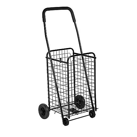 Honey-Can-Do CRT-01511 Medium Multi-Purpose Wheeled Utility Cart, Black