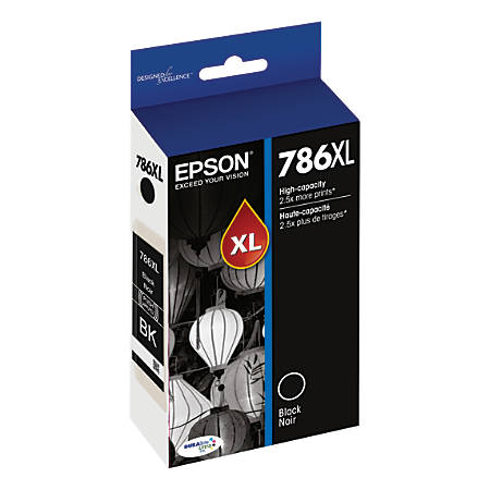 Epson DURABrite® Ultra T786XL120-S High-Yield Black Ink Cartridge