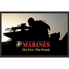 California Color Products Marines Door Mat