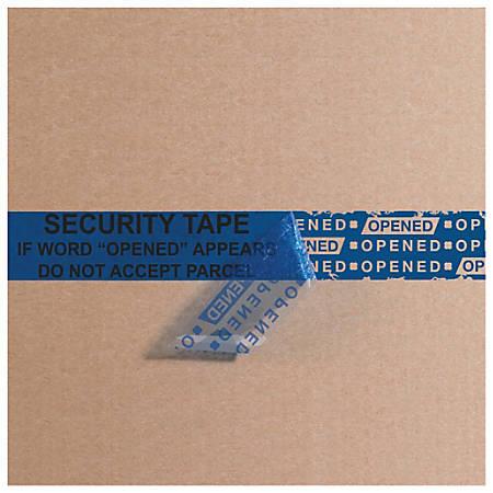 "Tape Logic® Secure Tape, 3"" Core, 3"" x 60 Yd., Blue"