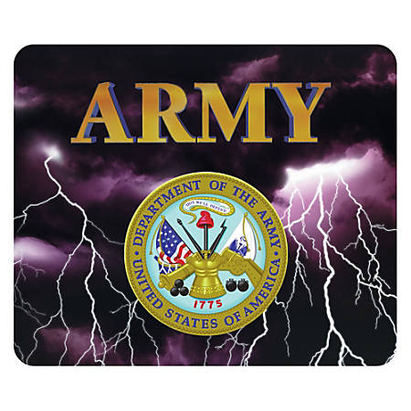 "Integrity Mouse Pad, 8"" x 9.5"", Army, Pack Of 6"