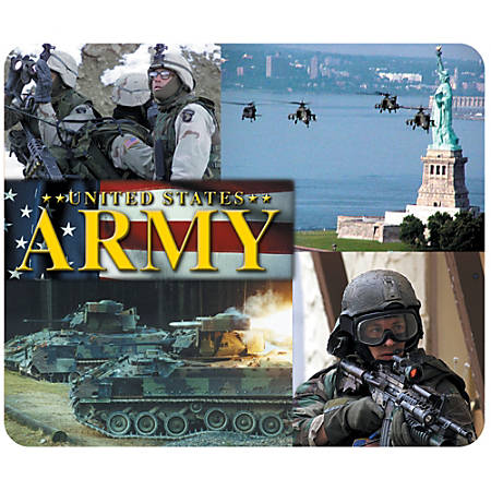 """Integrity Mouse Pad, 8"""" x 9.5"""", Army Men And Machines, Pack Of 6"""