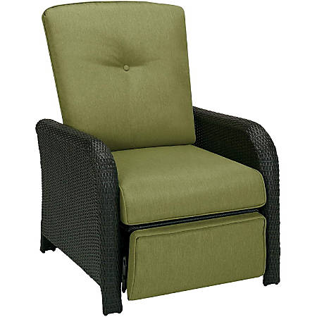 Hanover Strathmere Luxury Recliner in Cilantro Green