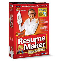 resumemaker professional deluxe 18 download version - Resume Maker Professional
