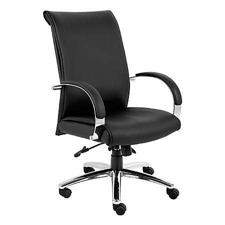 Boss Aaria Executive High Back Chair, Black