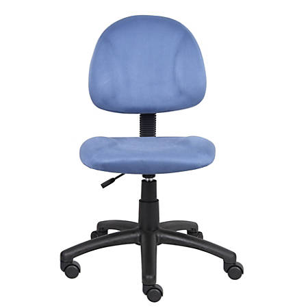 Boss Microfiber Task Chair, Blue