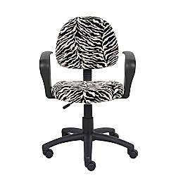 Boss Microfiber Mid Back Task Chair