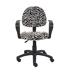 Boss Microfiber Mid Back Task Chair