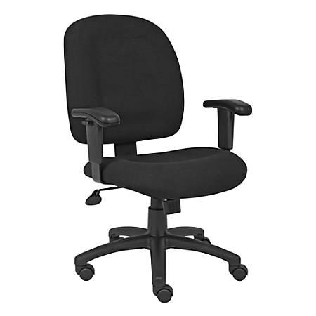Boss Chenille Task Chair, Black
