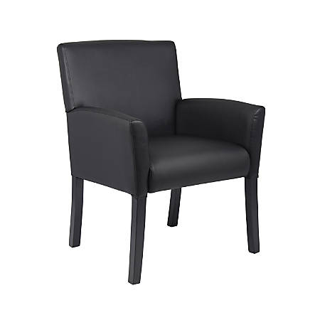 Boss Office Products Box-Arm Chair, Black