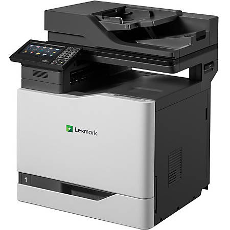 Lexmark CX820DE Color Laser All-In-One Printer, Copier, Scanner, Fax
