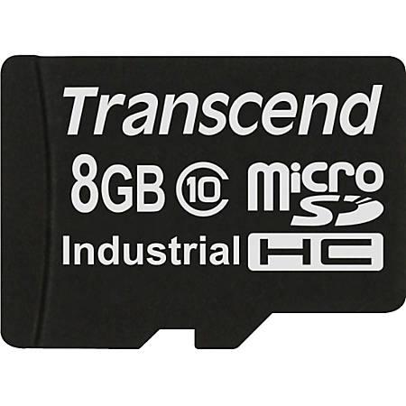 Transcend TS8GUSDHC10 8 GB Class 10 microSDHC - Class 10 - 1 Card