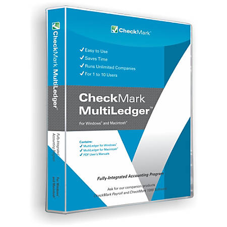 CheckMark MultiLedger (Windows/Mac), Download Version