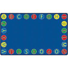Flagship Carpets Alphabet Circles Rug 7