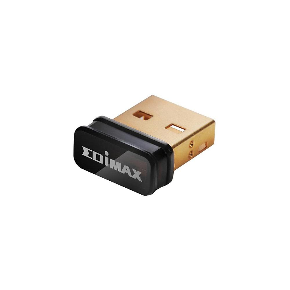 Edimax EW-7811UN IEEE 802.11n - Wi-Fi Adapter for Desktop Computer - USB - 150 Mbit/s - 2.48 GHz ISM - External