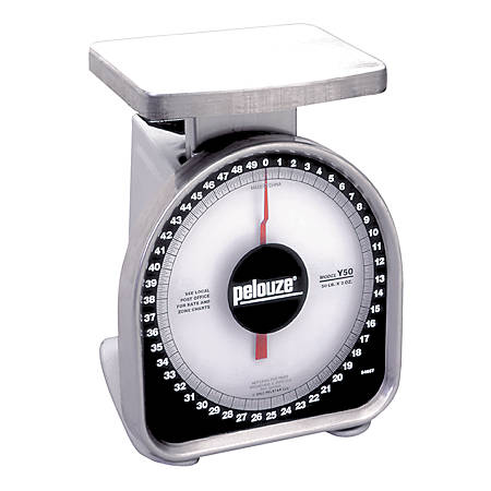 Pelouze® Heavy-Duty 50 Lb Package Scale