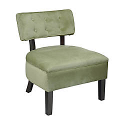 Ave Six Curves Button Accent Chair