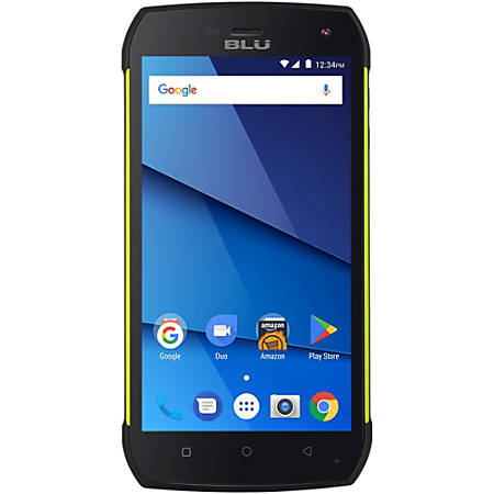 BLU Tank Xtreme Pro T0010UU Cell Phone, Green, PBN201268