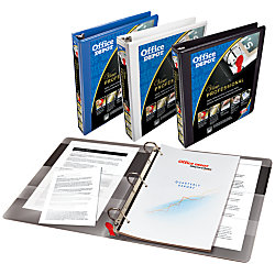 Office depot brand professional series binder 1 rings for Depot ringcenter
